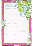 Lilly Pulitzer List Pad, Pink Lemonade (154018)