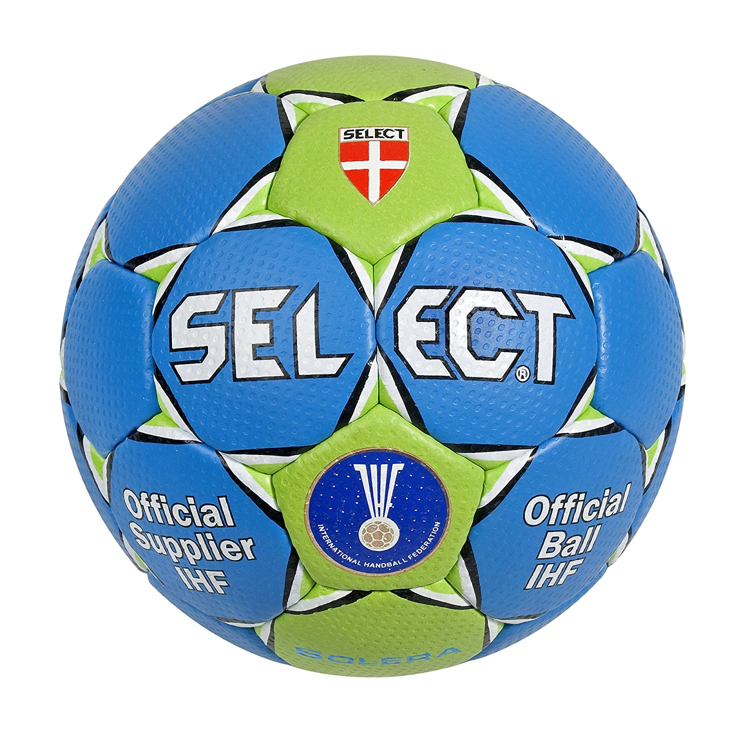 SELECT Trainingsball Solera - Pelota de Balonmano, Color Azul ...