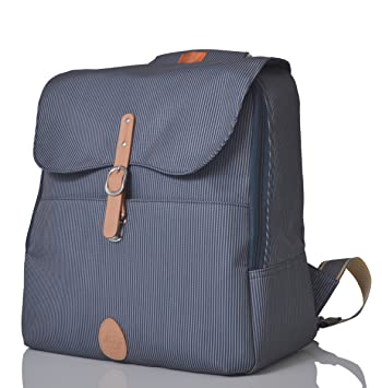 a04a221e4792 PacaPod Hastings Navy Designer Baby Changing Bag - Luxury Lightweight Navy  Knapsack 3 in 1 Organising