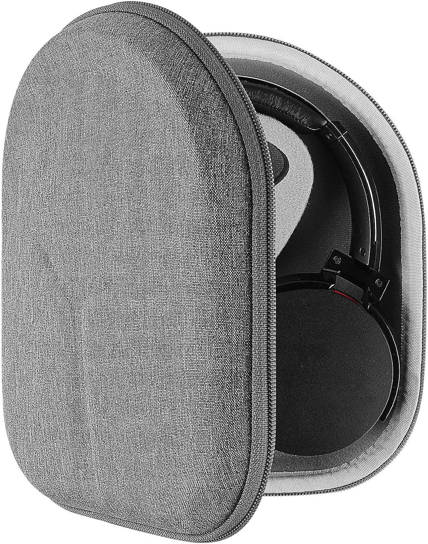 Geekria Funda para Auriculares Sony WH-CH700N, WH-1000XM3, WH-1000XM2, WHXB900N, MDR-XB950BT, XB950N1, XB950B1, MDR-1A, Viaje Bolsa