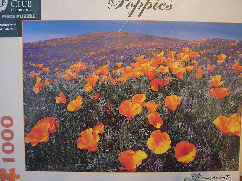 Sierra Club Dennis Frates Poppies 1000pc Jigsaw Puzzle