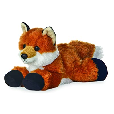 Aurora World 31290 Mini Flopsies - Foxxie 8in: Toys & Games