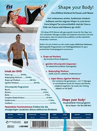 Fit For Fun Shape Your Body Amazon De Ina Munsberg Simon