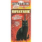 Inflatble Evil cuerno del unicornio para los gatos