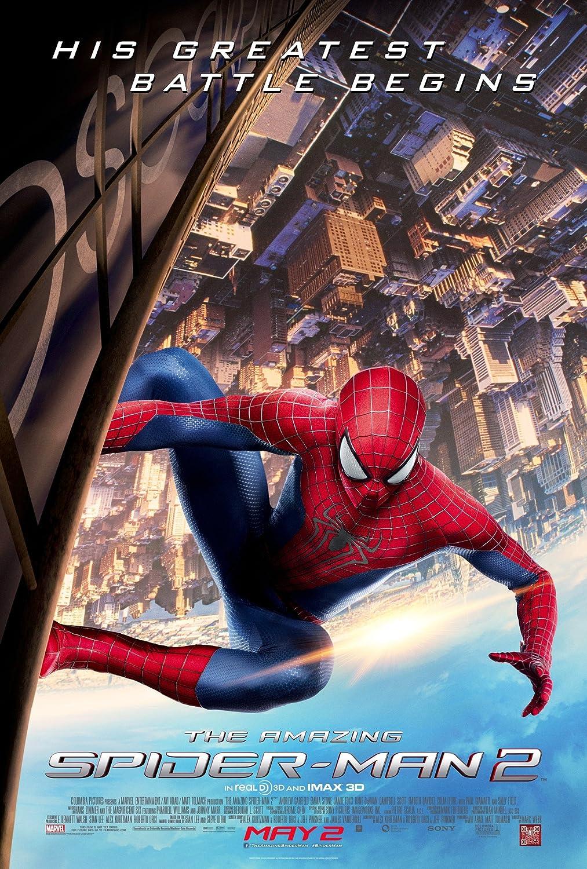 "The Amazing Spider-man 2 (2014) : Movie Poster (Thick) Original Size 12 x 18"" Inch - Andrew Garfield, Emma Stone, Jamie Foxx"