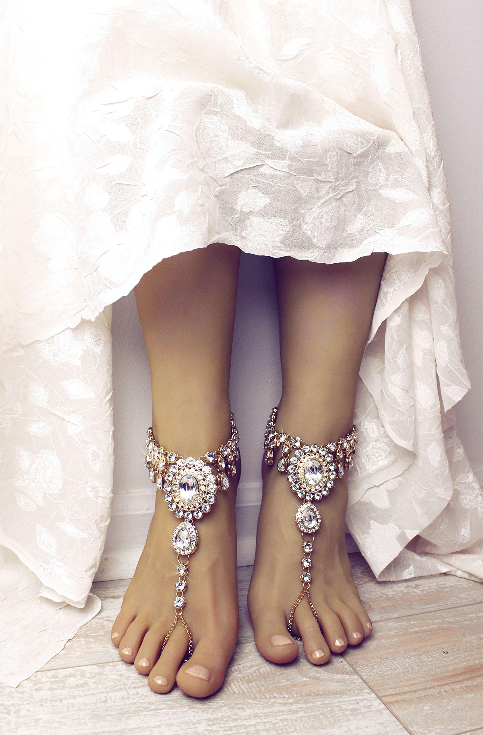 Starla Barefoot Sandals