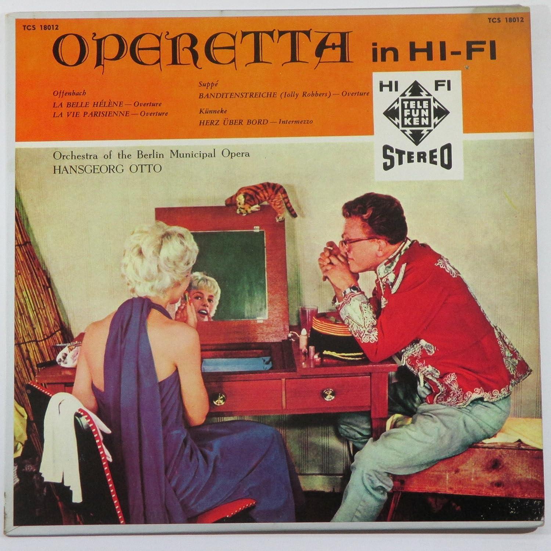 Operetta in Hi-Fi Spring new work Orchestra of 35% OFF Berlin Opera the Municipal Han