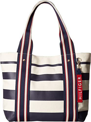 Stripe Tote Bag - Sales Up to -50% Tommy Hilfiger xGhYxy2Zw