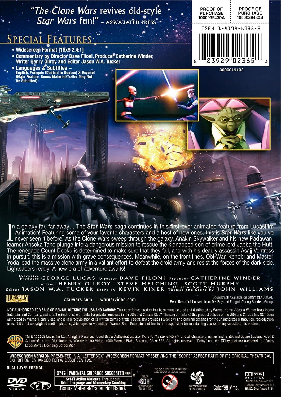 Amazon com: Star Wars: The Clone Wars (Widescreen Edition