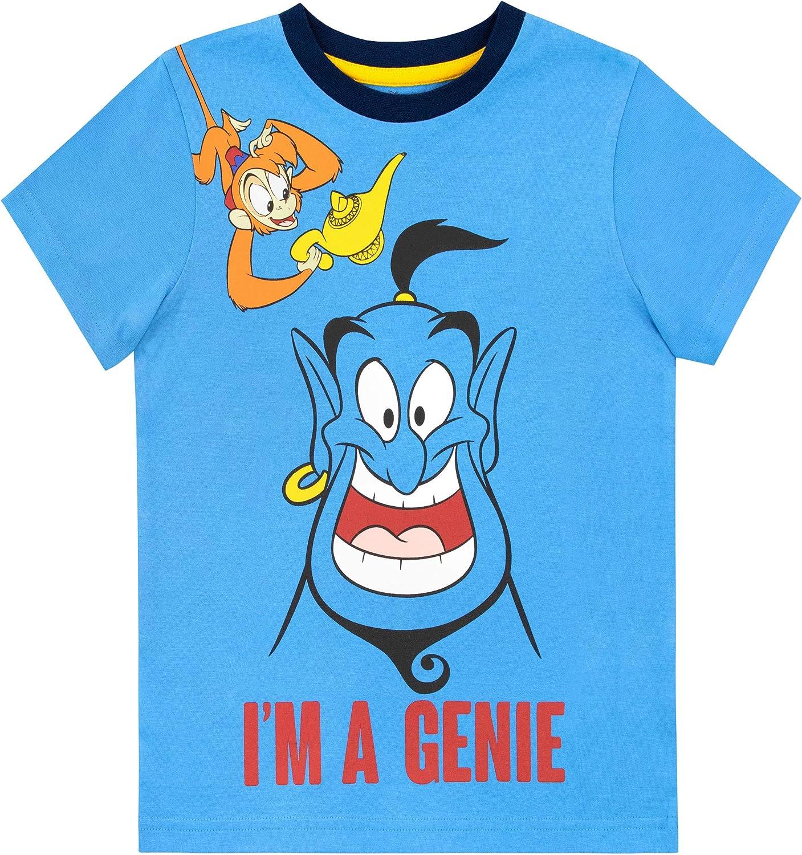 Disney Maglietta Maniche Corta per Ragazzi Aladdin