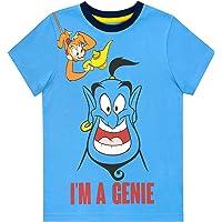 Disney Camiseta de Manga Corta para niños Aladdin