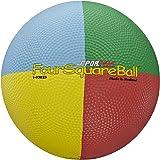 SportimeMax Four Square Ball, 8-1/2 Inches, Multi-Color