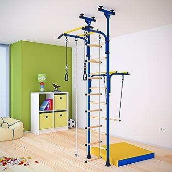 Indoor Klettergerüst für Kinder Sprossenwand Kinderturngerät. Farbe ...