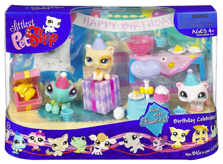 Littlest Pet Shop Birthday Celebration Hasbro 92581 MINI-LITP-PLAS-BIRTHDAY/_CELEBRATION