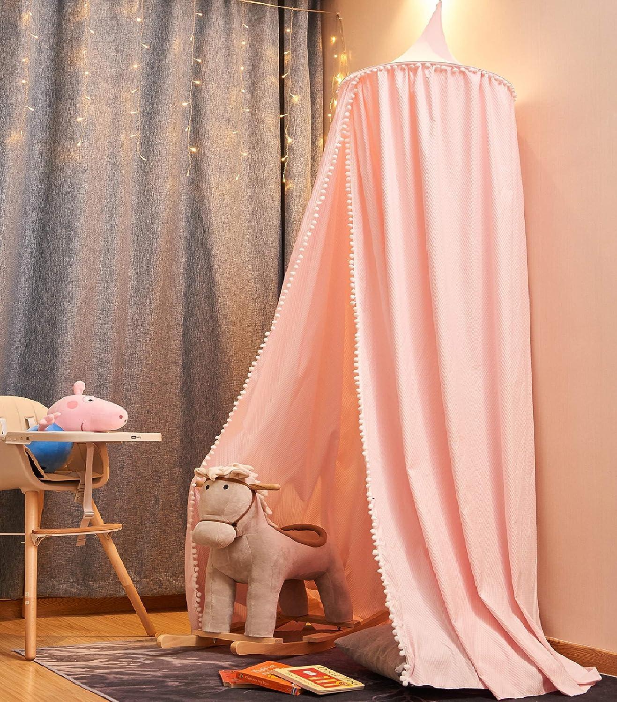 en Mousseline,60 * 240cm,blanc-Nouveau! Moustiquaire pour B/éb/é Ciels de Lit pour Enfant Salle de Lecture Pour D/écoration de Chambre /à Coucher pour les Enfants