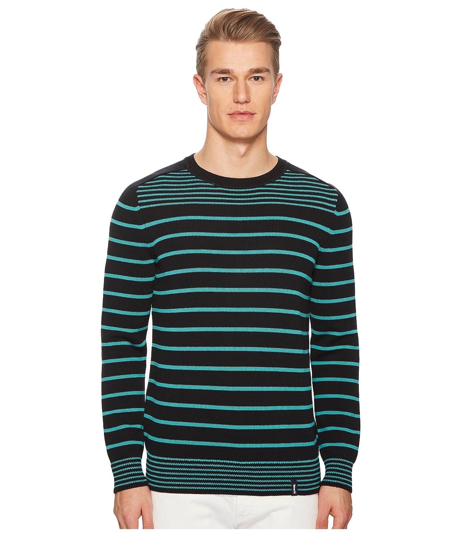 [ヴィルブレクイン] メンズ ニット、セーター Berrett Long Sleeve Striped Sweater [並行輸入品] B07DVDZ78K MD