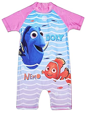 Girls All In One Swimming Costume Suit Disney Finding Dory 18 24