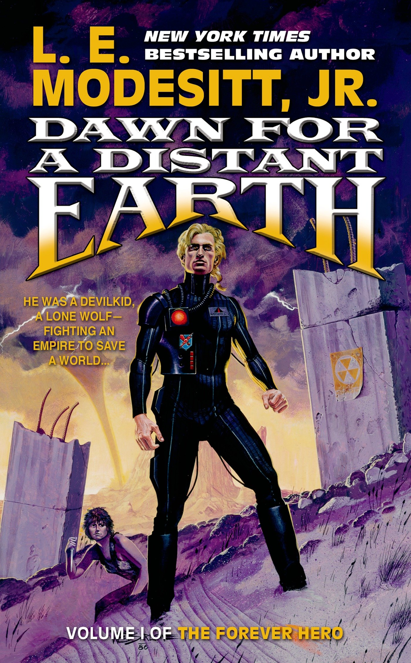 Download Dawn for a Distant Earth: The Forever Hero, Volume 1 pdf