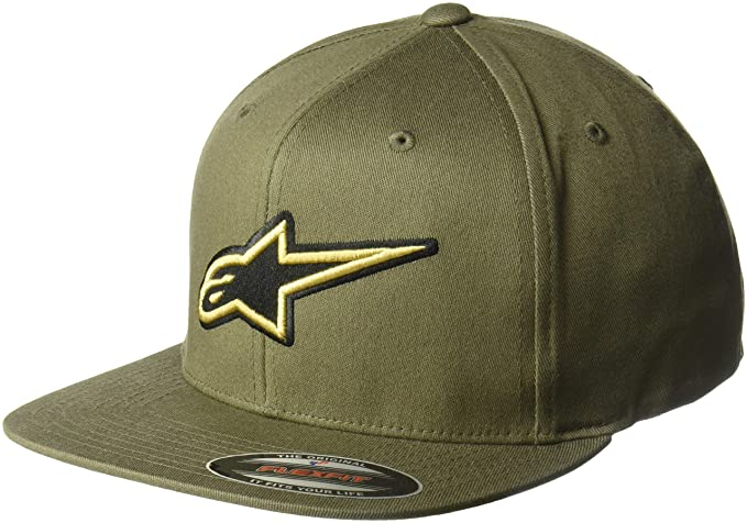 Alpinestars Gorra de béisbol Metalize Verde Militar - S/M