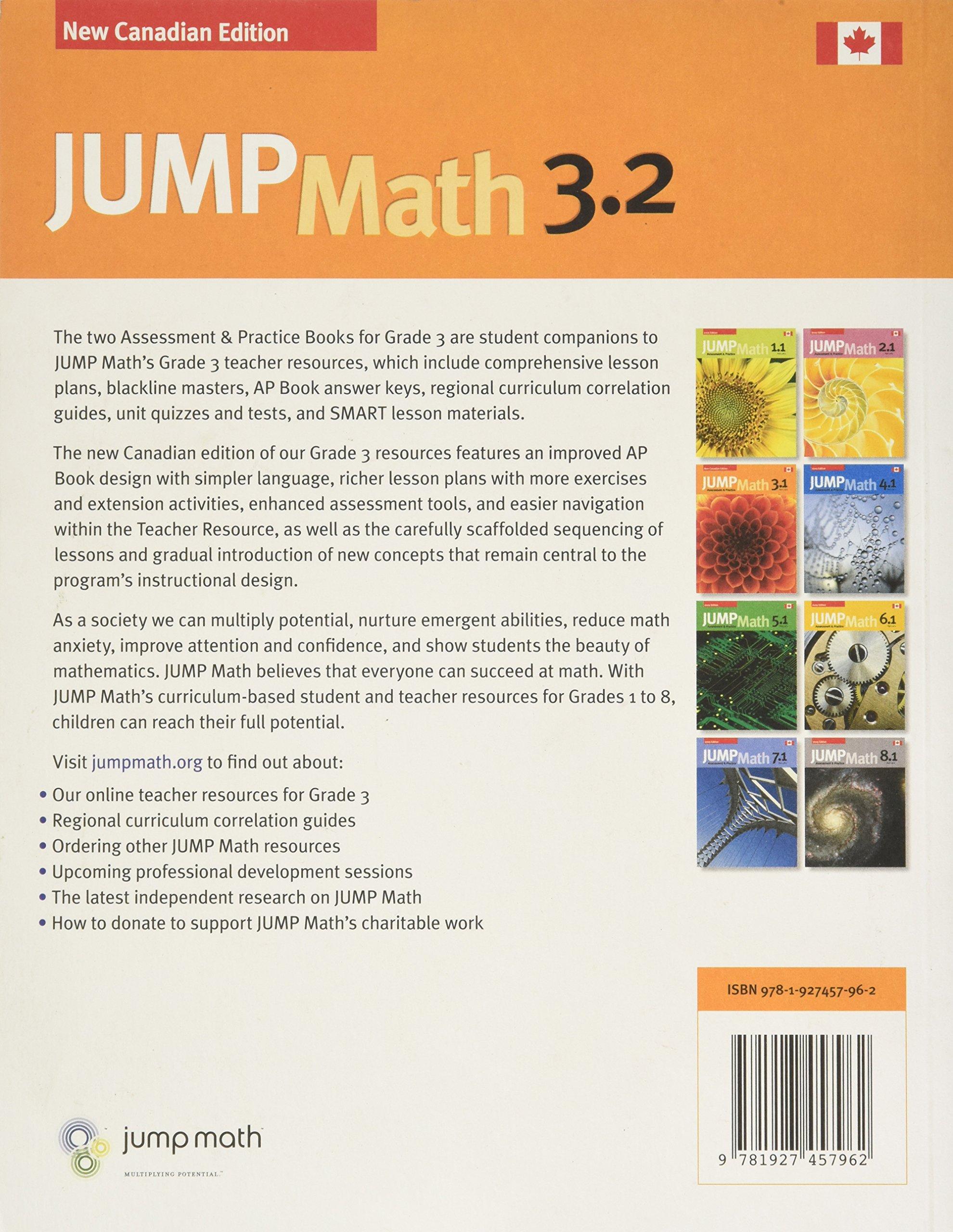 JUMP Math AP Book 3 2: New Canadian Edition: Amazon ca: John Mighton
