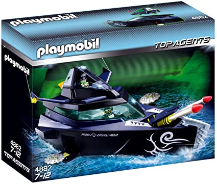 Playmobil - Turbo nave de los gánsters (4882)