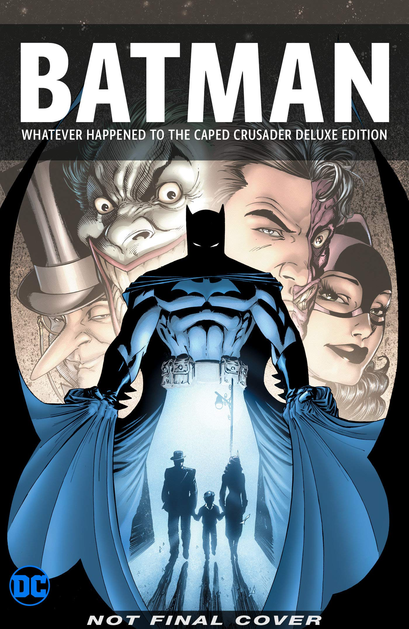 Best Comics 2020.Batman Whatever Happened To The Caped Crusader Deluxe 2020