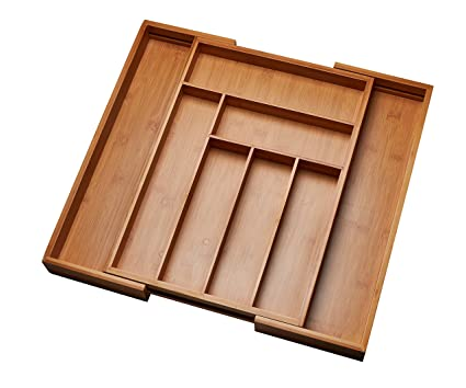 Kitchen Drawer Organizer Adjustable Drawer Dividers To Fit Snugly Into Any Kitchen Drawer Attractive