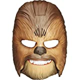 Star Wars Movie Roaring Chewbacca Wookiee Sounds Mask, Funny GRAAAAWR Noises, Sound Effects, Ages 5 and up, Brown…