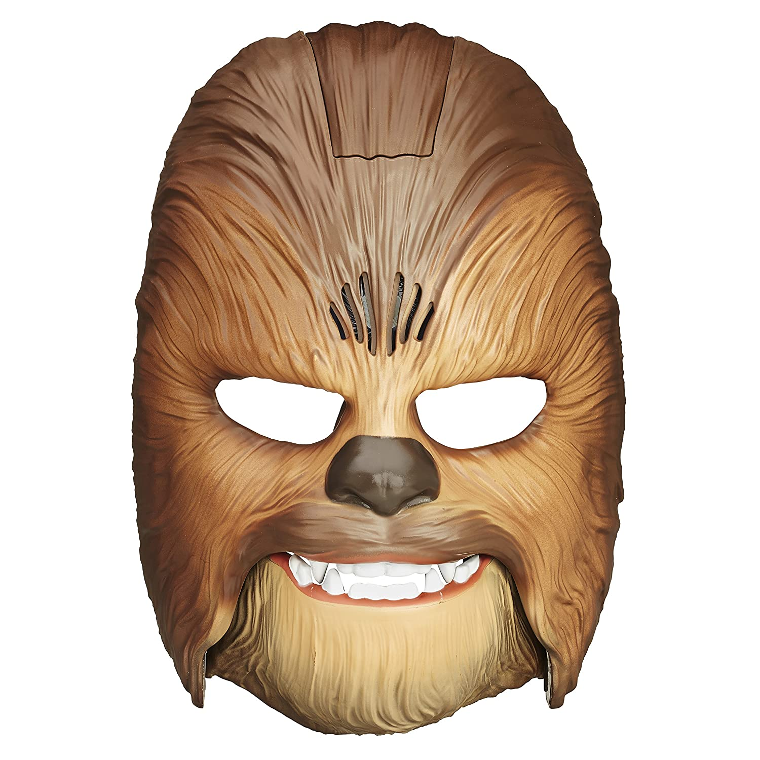 Star Wars Movie Roaring Chewbacca Wookiee Sounds Mask  Funny GRAAAAWR Noises  Sound Effects  Ages 5 and up  Brown  Amazon Exclusive