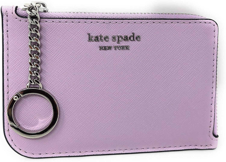 Kate Spade New York Medium L-Zip Card Holder Keychain