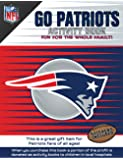 NFL New England Patriots Activity Book/Blue/Red/One Size