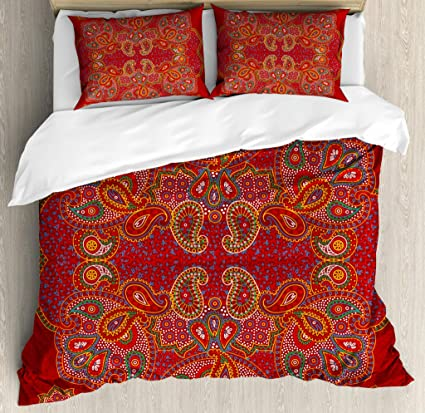 58f94022735 Amazon.com  Ambesonne Mandala Duvet Cover Set King Size