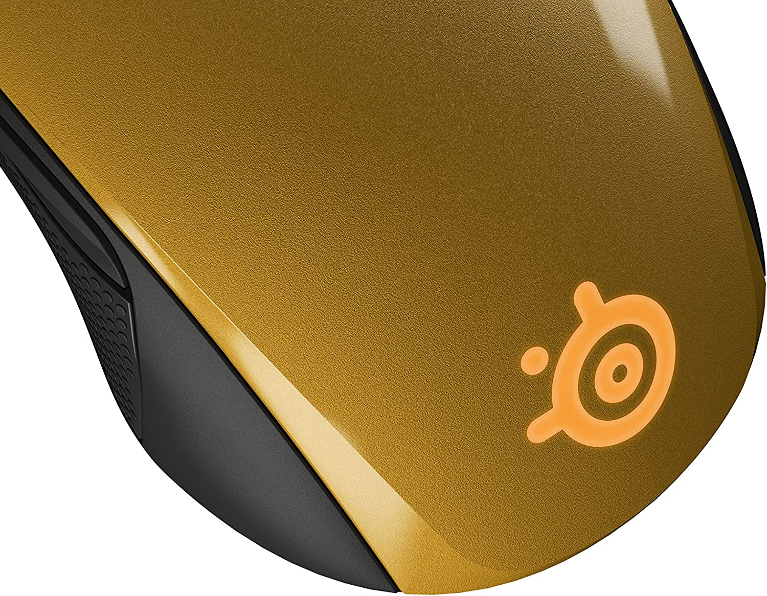 Alchemy Gold Optical Gaming Mouse SteelSeries Rival 100