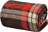 ottostyle.jp マイクロファイバー毛布 シングルサイズ 幅140cm 【タータンチェック/ブラウン】 豊富なカラバリ マシュマロタッチ フワッとやさしい肌触り ふんわり やわらか