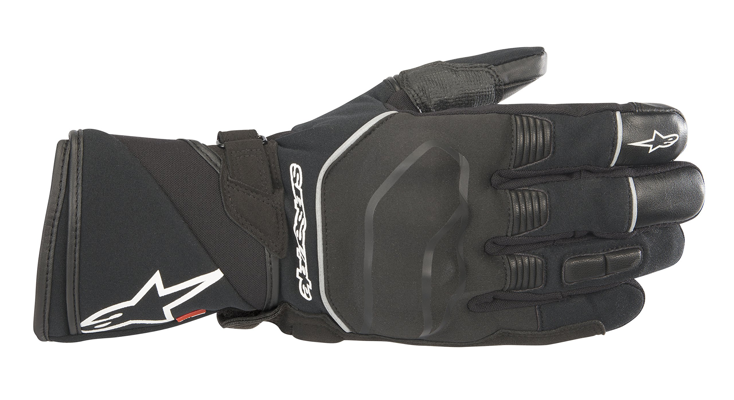 Andes Touring Outdry Waterproof Motorcycle Riding Glove (L, Black)