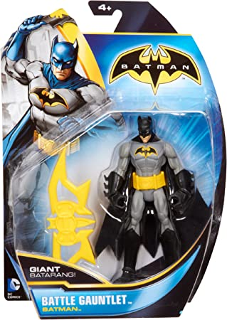 Batman - Figuras de acción, Pack Heroe Villano, Batman color gris ...