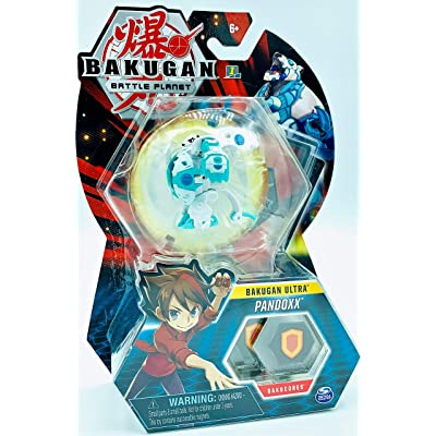Bakugan Ultra - Haos Pandoxx - 3-inch Tall Collectible Transforming Creature, for Ages 6 and Up - Wave 6: Toys & Games