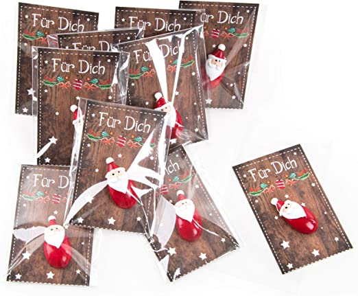 Gsyamh Papier Weihnachtsgeschenk Beutel Geschenkt/üten Weihnachten Mit Klettverschluss Elch Weihnachten Candy Bag Dekoriert Mit Sch/önen Schleifen Das Design Der Tasche Leicht Zu /Öffnen Zu Schlie/ßen