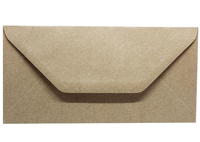 50 Kraftpapierumschläge Briefumschläge Aus Kraftpapier Ohne