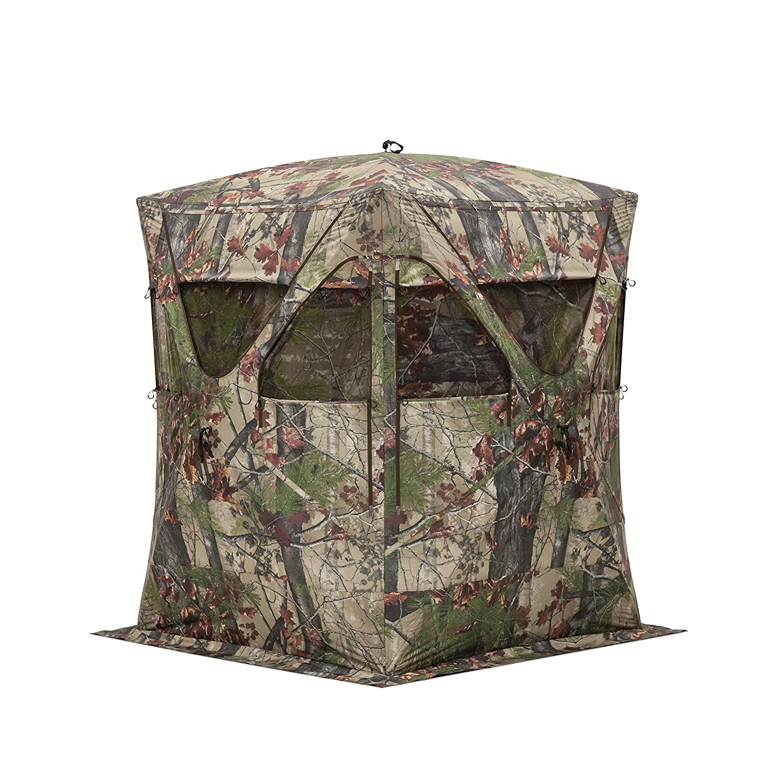 deer watch person foot youtube stand ameristep tripod blinds blind hunting