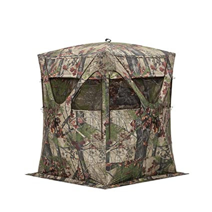 blinds and hunting deer chair info camouflage popup pop up induced blind ground