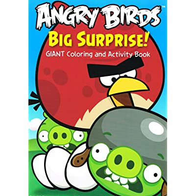 Angry Birds Mission Giant Coloring and Activity Book (Assorted Styles): Toys & Games