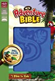 NKJV, Adventure Bible, Imitation Leather, Blue, Full Color
