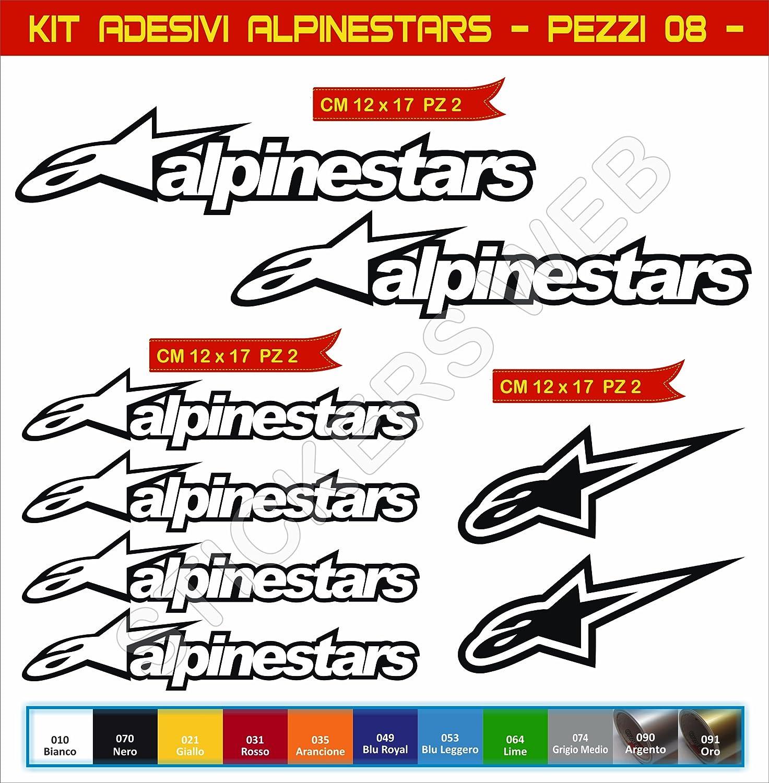 Pegatinas adhesivos ALPINESTARS para motos motocicletas Cod