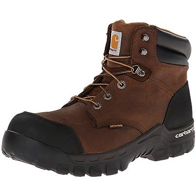 Amazon.com   Carhartt Men's CMF6380 Rugged Flex Six Inch Waterproof Work Boot   Industrial & Construction Boots