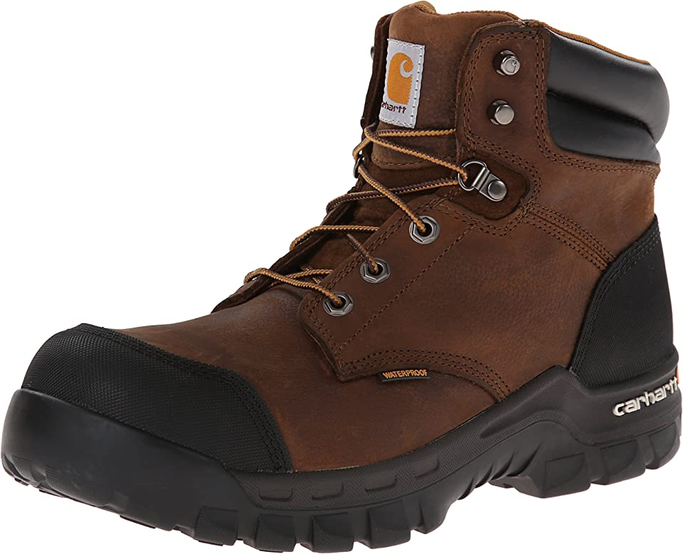 Composite Toe Leather Work Boot CMF6380