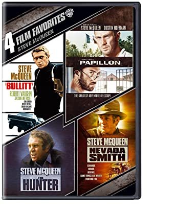 4 Film Favorites: Steve McQueen (The Hunter / Nevada Smith / Bullitt / Papillon)