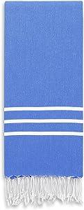 Linum Home Textiles Alara Turkish Pestemal Beach Towel