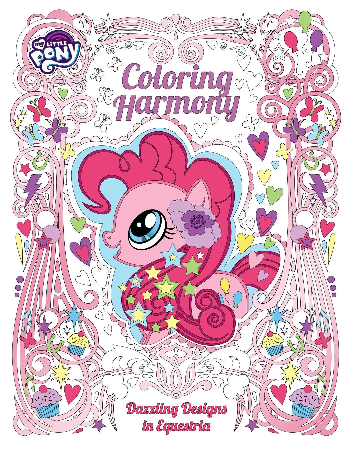 My Little Pony: Coloring Harmony: Dazzling Designs in ...