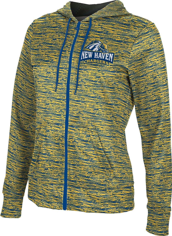 University of New Haven Girls Zipper Hoodie Brushed School Spirit Sweatshirt